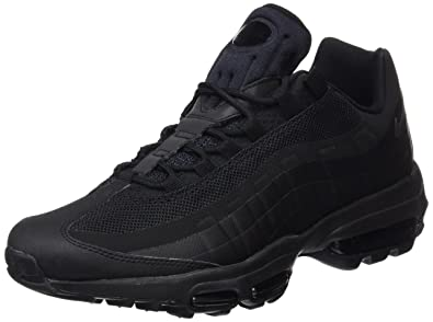 best service fa724 98dea Nike Air Max 95 Ultra Essential, Sneakers Basses Homme, Noir Black, 38.5 EU