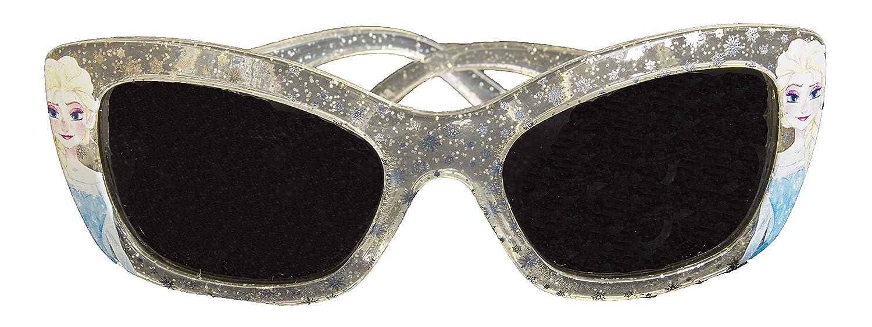 Official Licensed Girls Disney Frozen Princess Elsa Sunglasses UV 4OO PROTECTION Transparent Glitter
