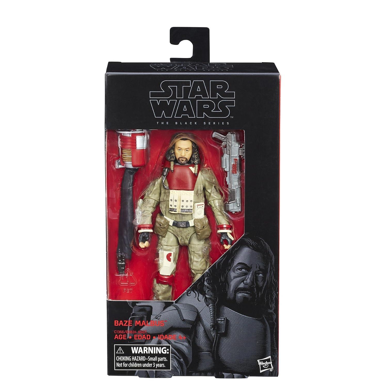 Spielzeug Action- & Spielfiguren Star Wars The Black Series Rogue One 6-inch #37 Baze Malbus Figure By Hasbro Lassen Sie Unsere Waren In Die Welt Gehen