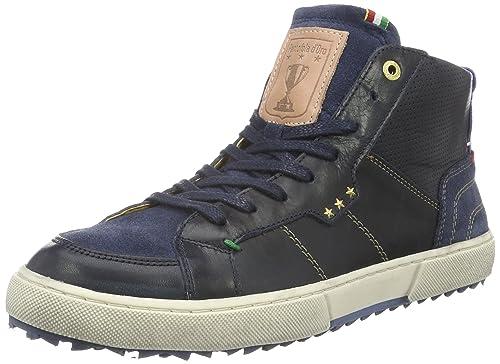 Pantofola d'Oro Monza Mid, Sneaker a Collo Alto Uomo, Blu (Dress Blues .29Y), 44 EU