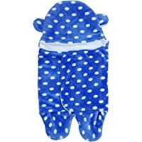 BRANDONN All in 1 Multipurpose Baby Boy's and Baby Girl's Baby Blanket/Safety Bag/Sleeping Bag/Baby Bedding/Baby Bed for Babies for Babies