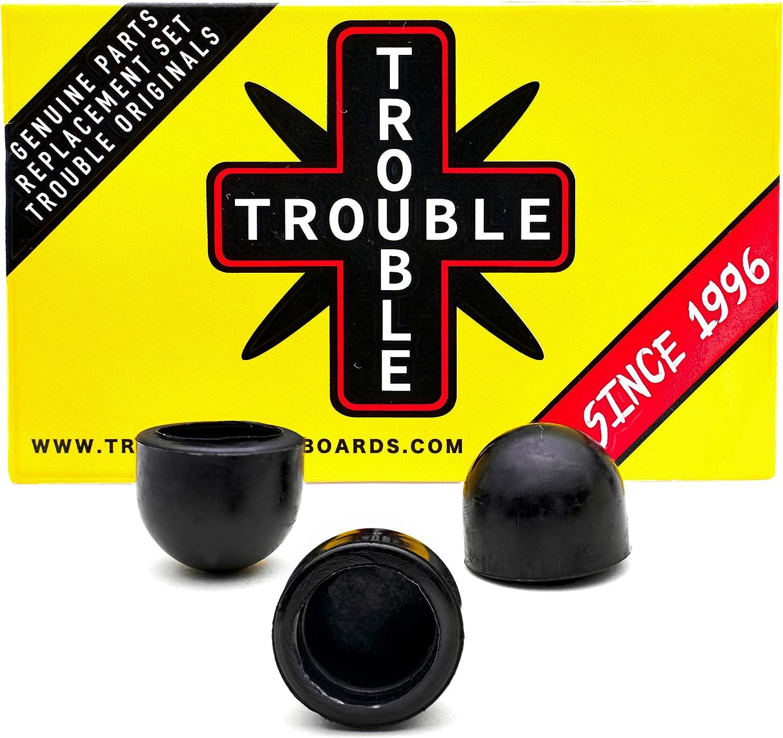 H18 TROUBLE SKATEBOARDS Pivot Cups Skateboards Pivots Parts for Skateboard Hardware Trucks Set of 24