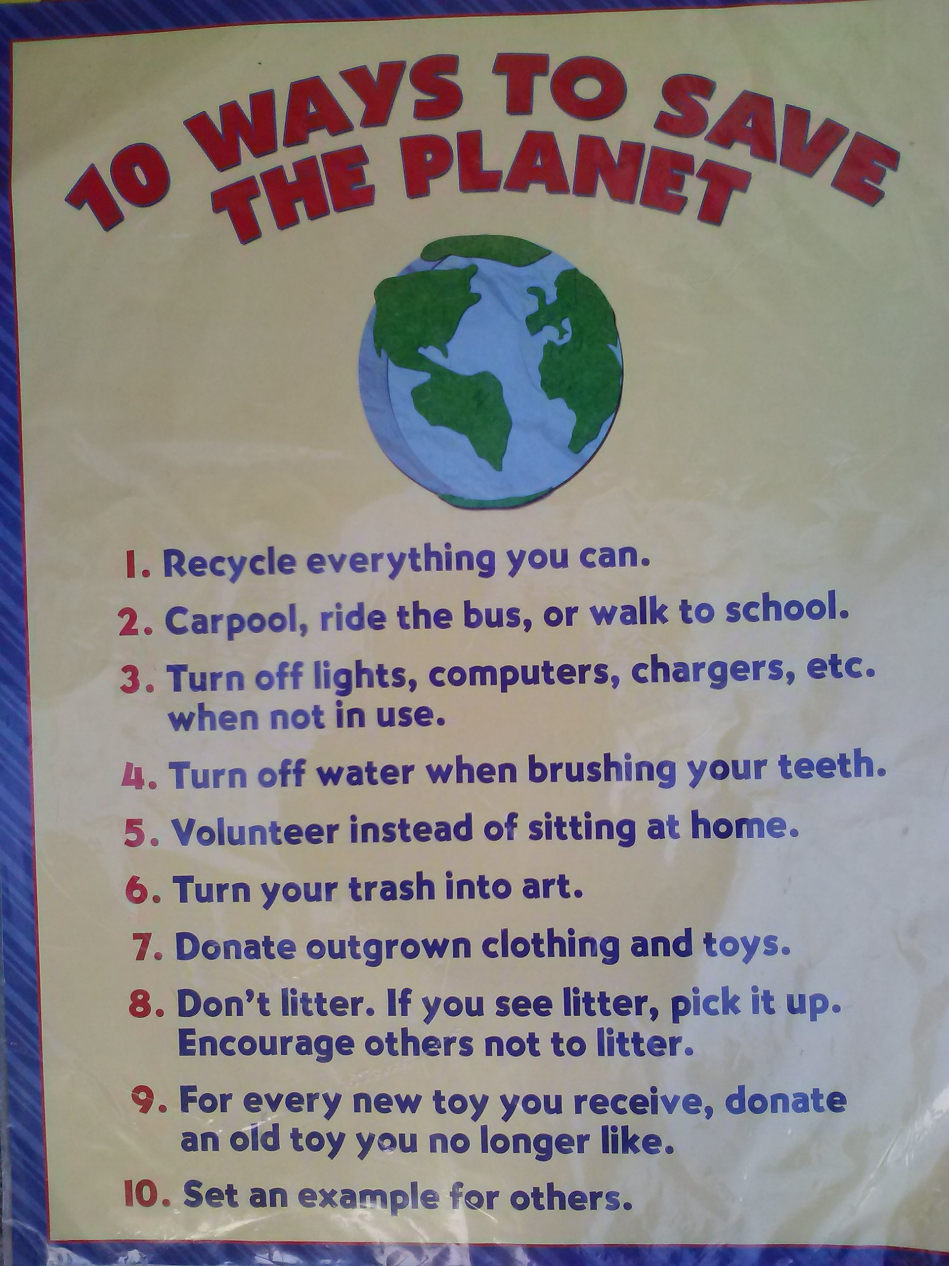 Download Teaching Tree 10 Ways to Save the Planet & How Are Aluminum Cans Recycled Educational 2 Posters Set pdf epub
