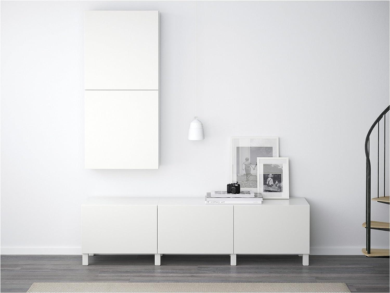Zigzag Trading Ltd IKEA BESTA - Armario de Pared con 2 Puertas Lappviken Blanco: Amazon.es: Hogar