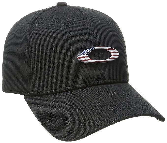 1e16f478bd7 ... promo code for oakley mens tincan cap hat black american flag c7870  cab6d