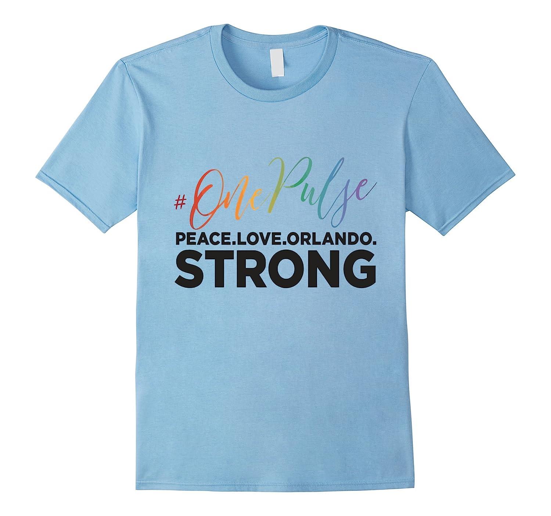 #onepulse - Peace. Love. Orlando. Strong T Shirt-BN