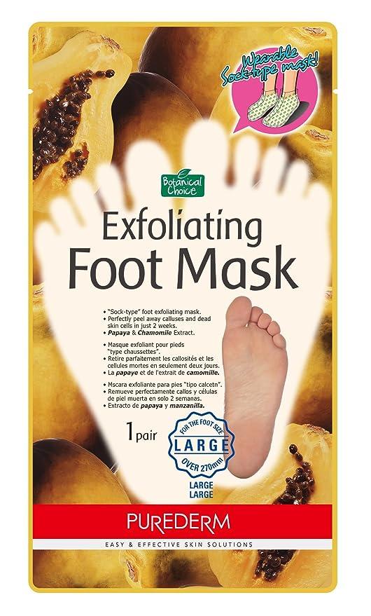105 opinioni per Purederm Esfoliante maschera piede [di grandi dimensioni, oltre 270mm] Papaya ed