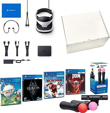 PlayStation VR2 [MegaPack]: Skyrim + Doom + Everybodys Golf ...