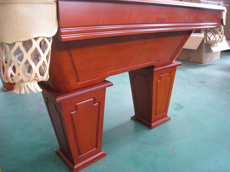 8 pies mesa de billar de madera maciza con Pooltunierbillardtisch ...