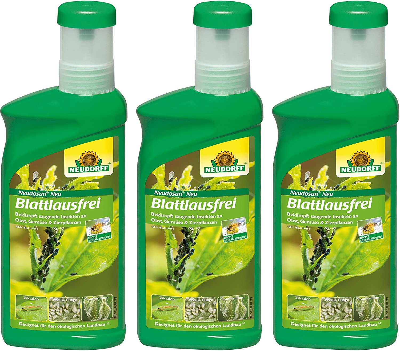 3 x 500 ml Neudorff neudosan nuevo hojas laus libre concentrado ...