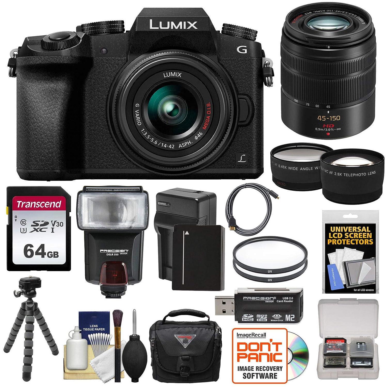 Amazon.com: Panasonic Lumix DMC-G7 4 K WIFI Cámara Digital + ...