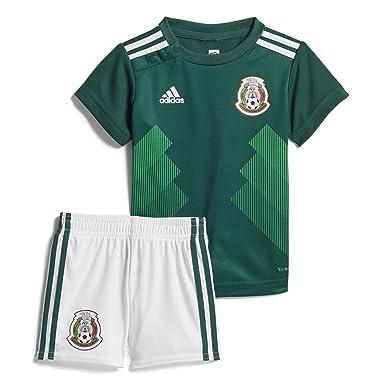: adidas neonato calcio messico casa mini kit: abbigliamento