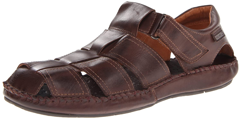 Pikolinos TARIFA 06J-1 06J-5433_V13 - Sandalias de cuero para hombre 46 EU|Marrón (Olmo)