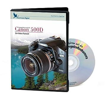 Kaiser - Tutorial de vídeo para la cámara Canon EOS 500 D (DVD, en ...