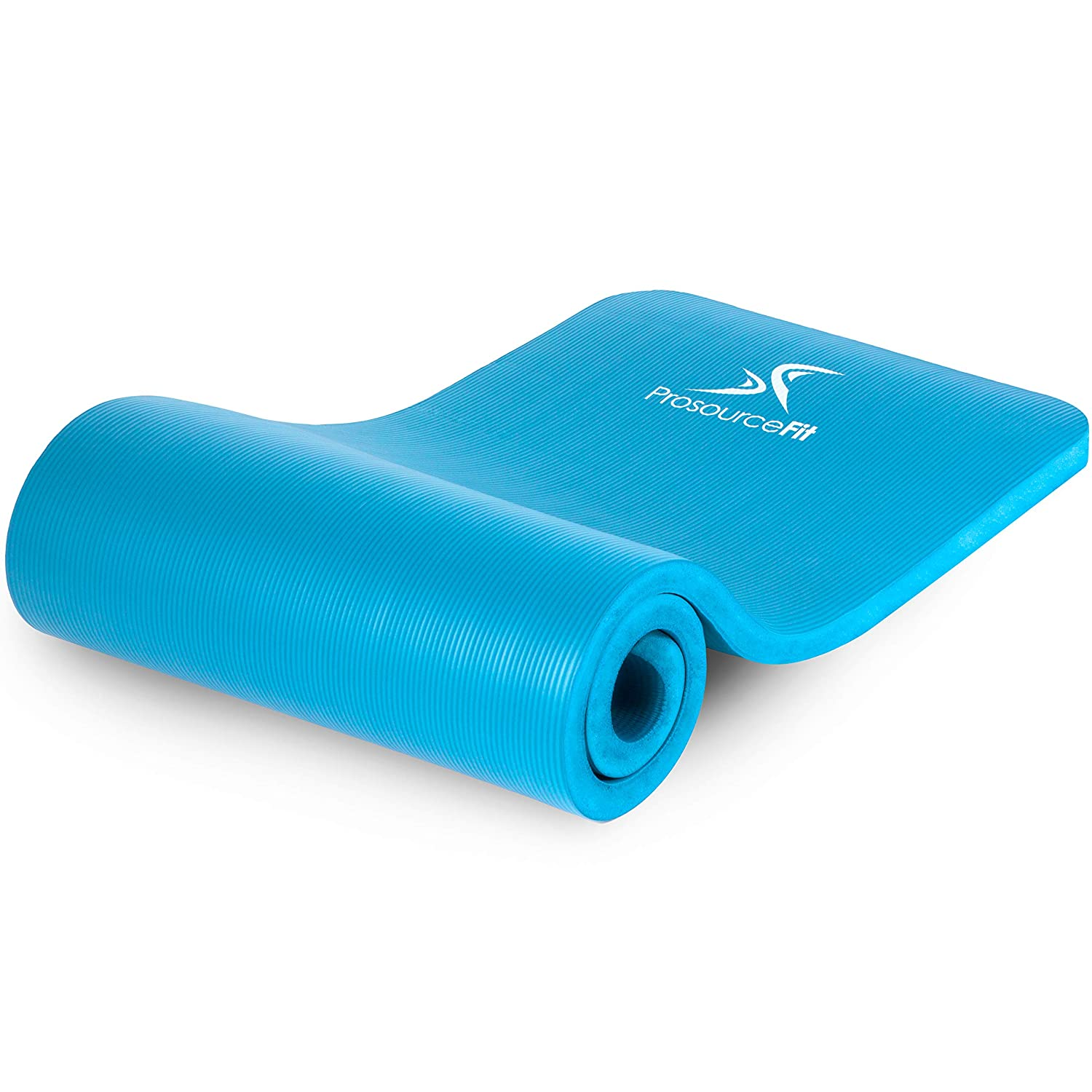 "ProsourceFit Extra Thick Yoga and Pilates Mat ½"" (13mm) or 1"