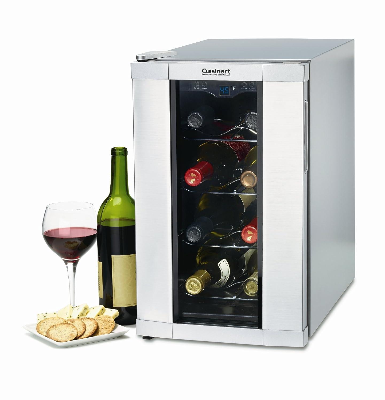 Amazon.com Cuisinart CWC-800 8-Bottle Private Reserve Wine Cellar Stainless Finish Appliances  sc 1 st  Amazon.com & Amazon.com: Cuisinart CWC-800 8-Bottle Private Reserve Wine Cellar ...