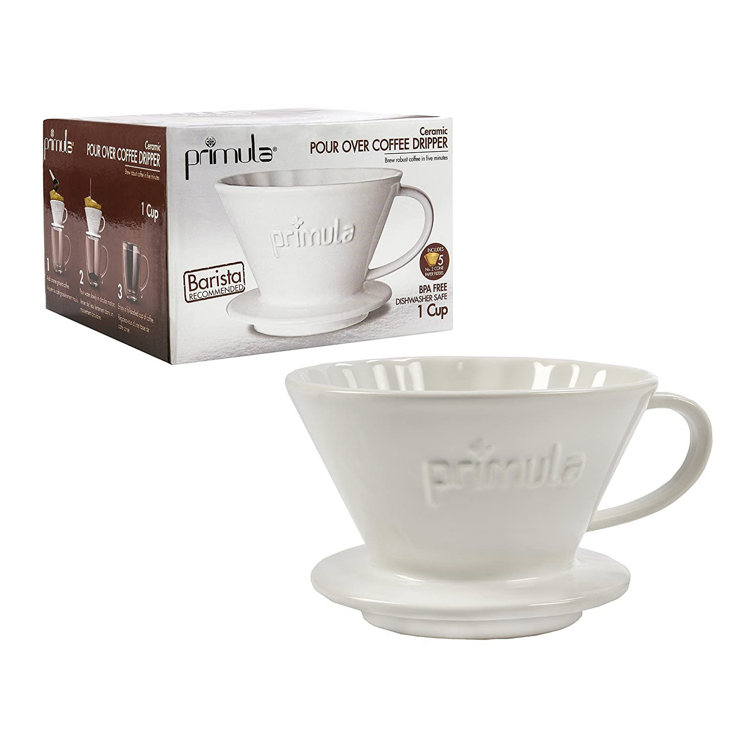 Primula Pour Over Coffee Maker For Light, Non Bitter Drip Brewed Fits Most... eBay