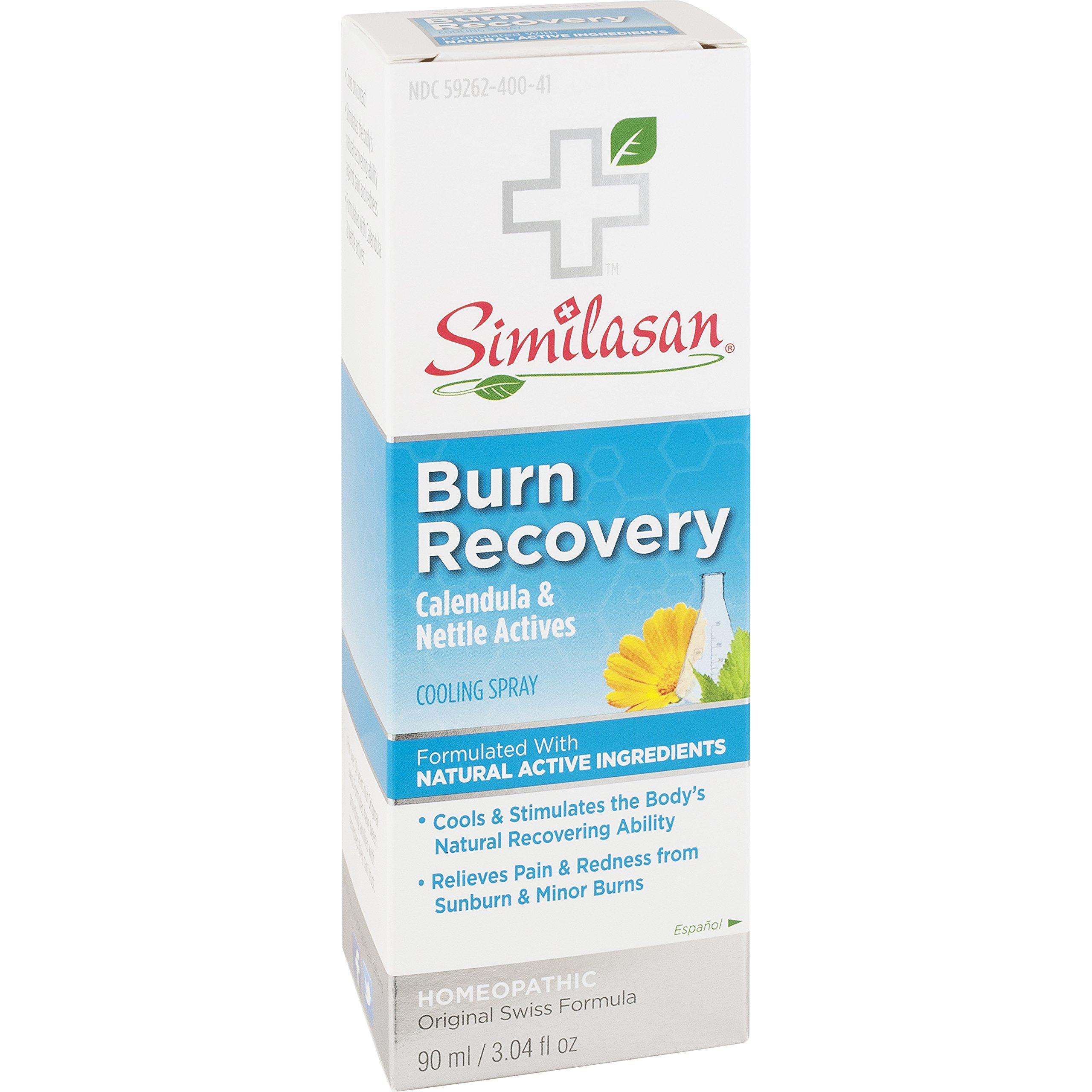 Similasan Burn Recovery Cooling Spray, 3.04 Fluid Ounce
