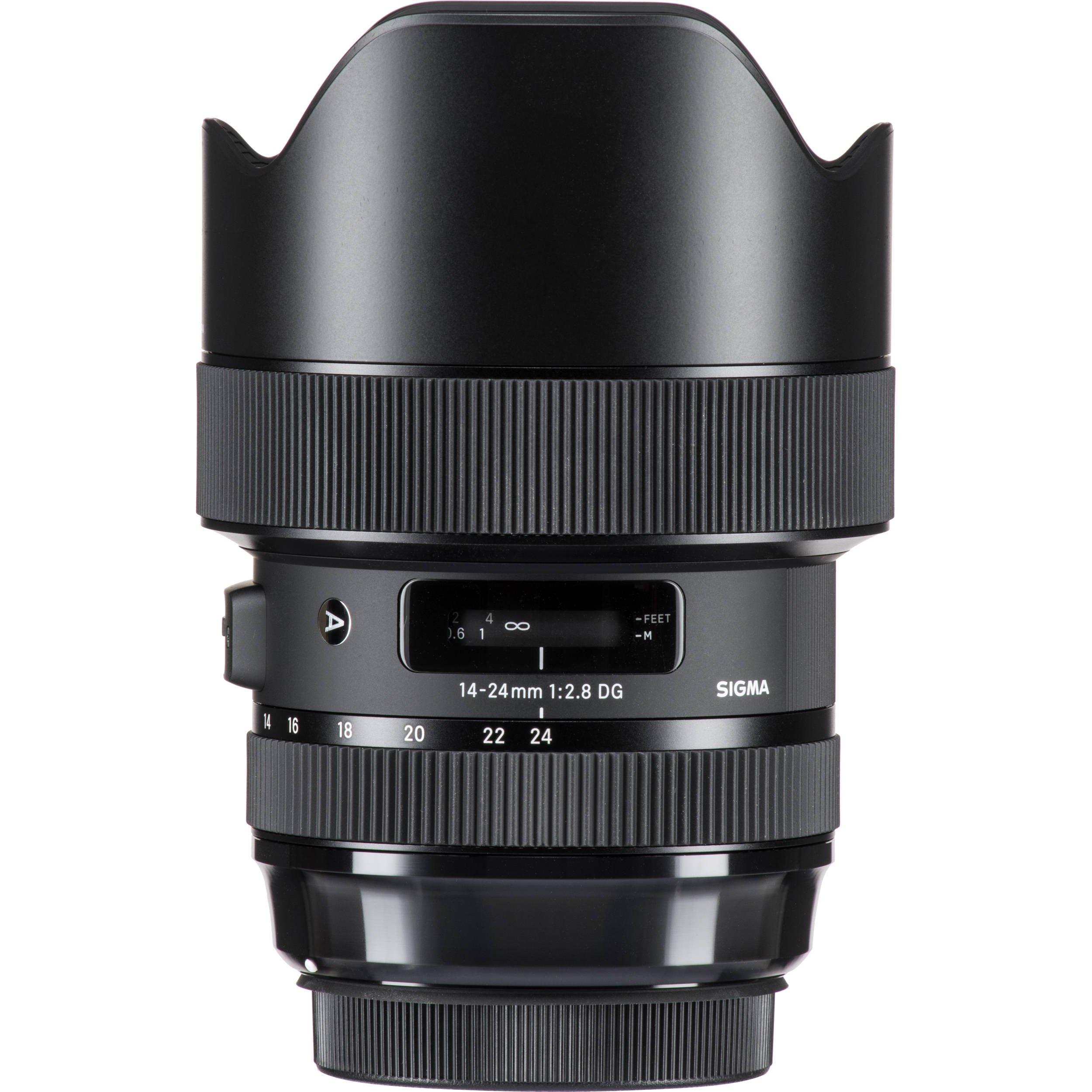 Sigma 14-24mm f/2.8 DG HSM Art Lens for Nikon F – 6PC Accessory Bundle by Sigma (Image #2)