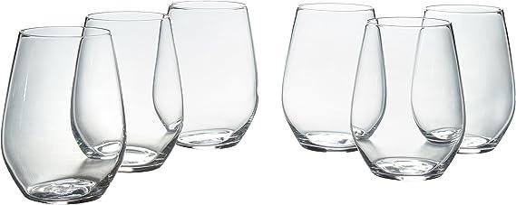 Stone & Beam Traditional Stemless White Wine Glass