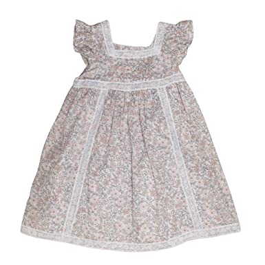 Piper Posie Floral Patterned Dress 18 Mths Amazon Co Uk Clothing