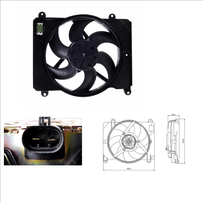 NRF 47255 Ventilador refrigeraci/ón del motor
