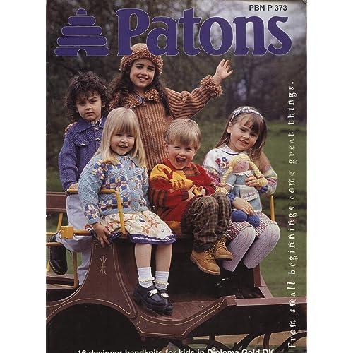 Patons Knitting Pattern Books Amazon