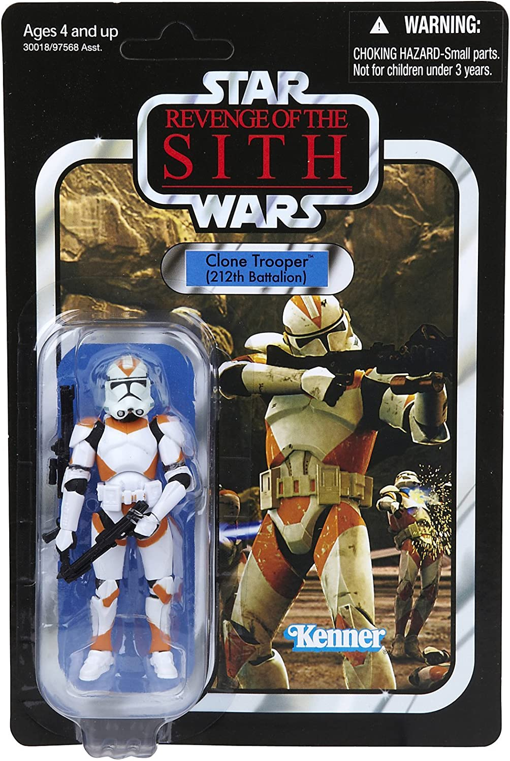 Star Wars Revenge Of The Sith Clone Trooper 212th Battalion Amazon Co Uk Toys Games