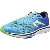 Newton Running Gravity 8 - Calzado Deportivo de Running para Mujer, Azul/Lima