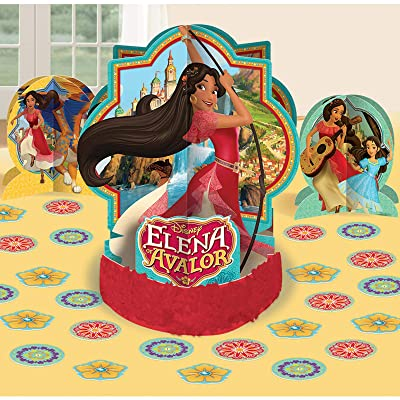 amscan Table Decorating Kit | Disney Elena of Avalor Collection | Party Accessory: Toys & Games