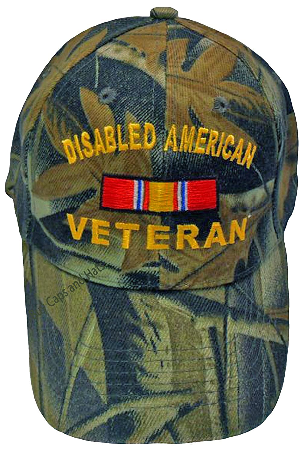 Amazon.com  Buy Caps and Hats Disabled Veteran Baseball Cap Camouflage Hat  Mens Camo Womens  Sports   Outdoors 0acc543b645