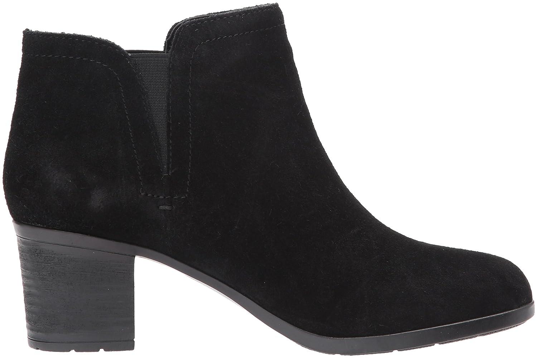 Easy Spirit Women's Belnin Boot B06Y3NHW3C 10 W US|Black/Black Suede