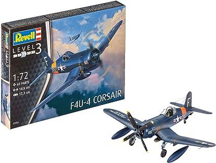 1//72 scale Revell F4U-4 Corsair Model Kit 03955