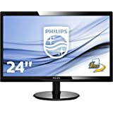 Philips 246V5LHAB/00 24-Inch LCD/LED Monitor - Black