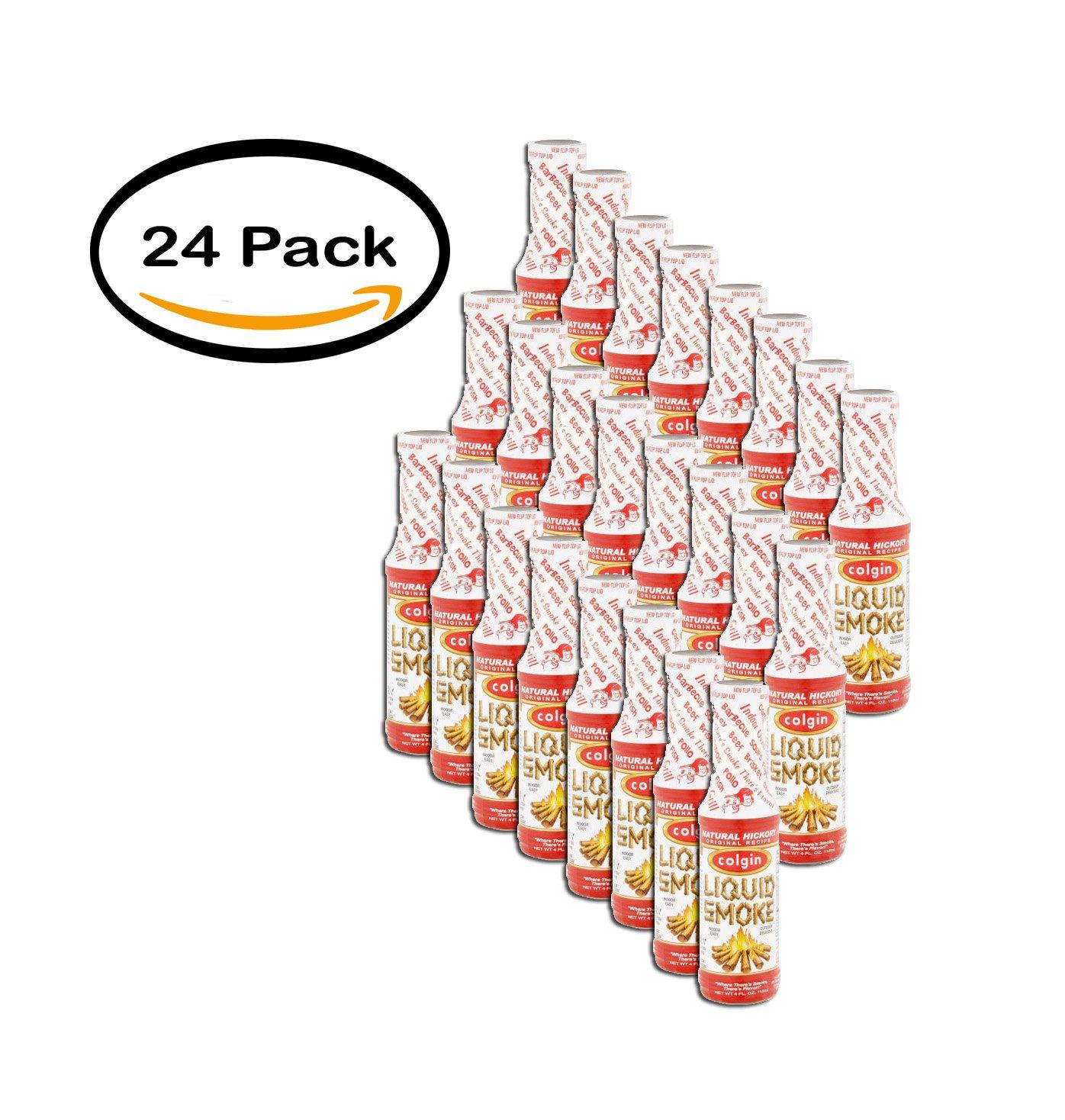 PACK OF 24 - Colgin Natural Hickory Liquid Smoke, 4 fl oz