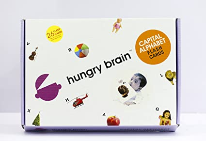 Buy capital alphabet hungry brain flash cards online at low prices capital alphabet hungry brain flash cards ccuart Images