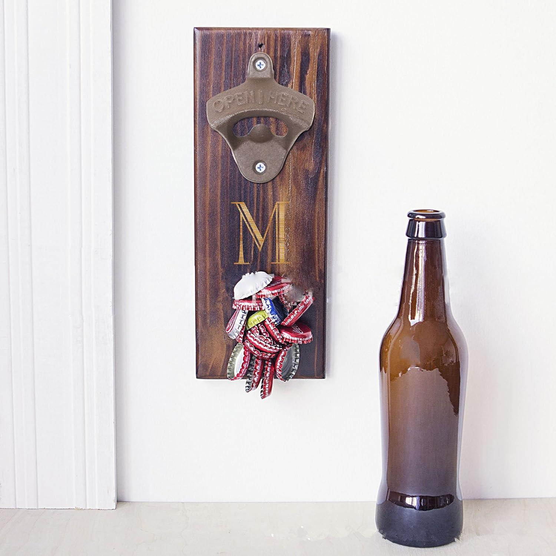 SuperLi Set of 10Open Here Cast Iron Wall Mount Bottle Opener Vintage Look Replica