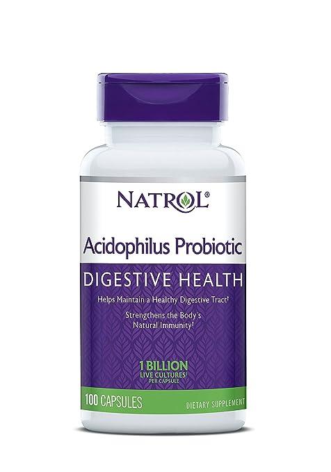Acidophilus 100 mg - 100 cápsulas