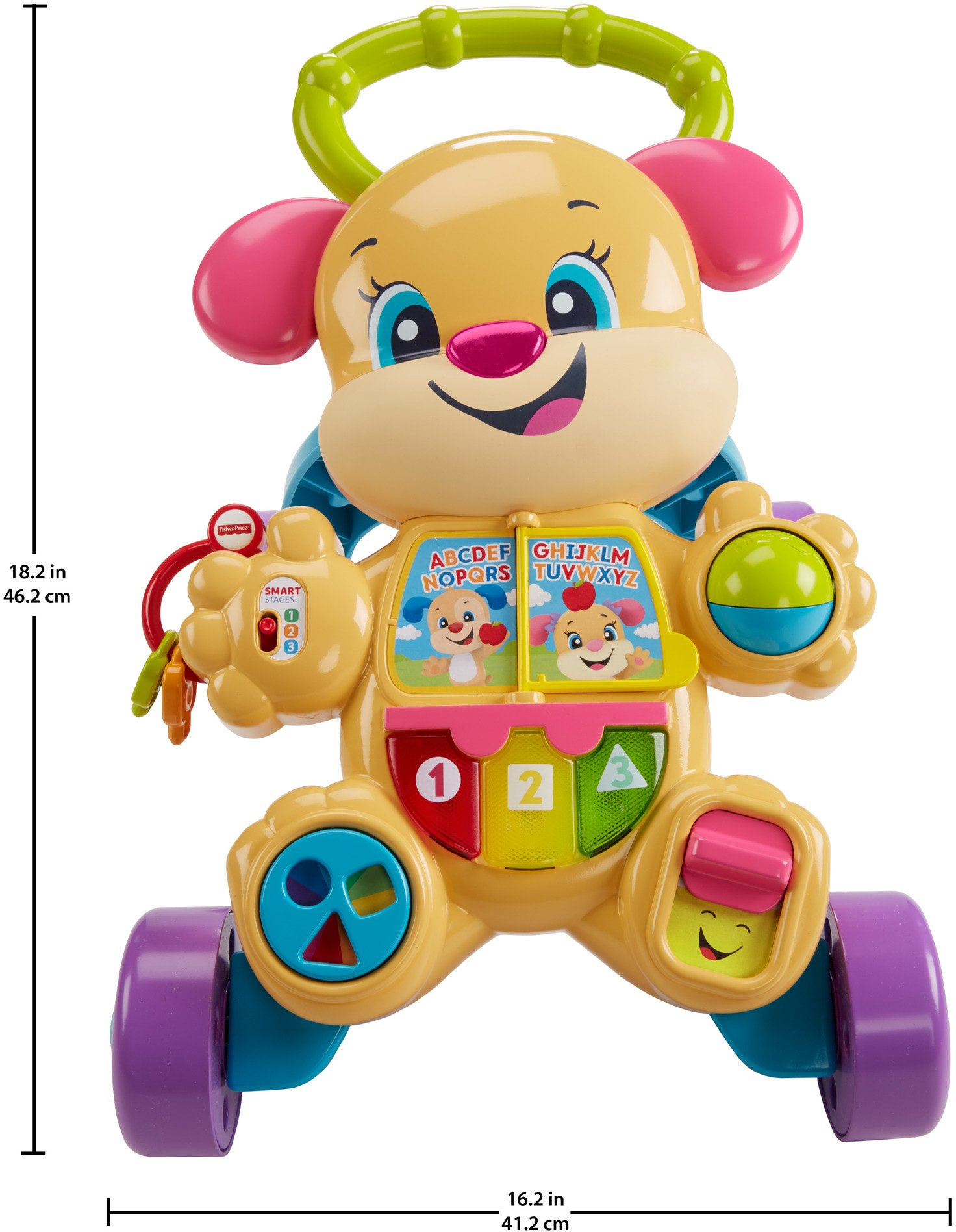 Fisher-Price Laugh & Learn Smart Stages Learn with Sis Walker by Fisher-Price