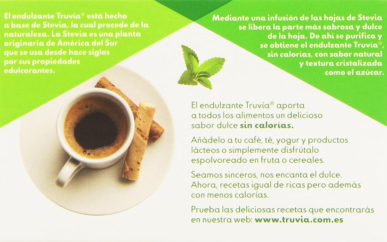 Truvia Endulzante 0 Calorías de La Hoja de Stevia - 40 Sobres: Amazon.es: Amazon Pantry