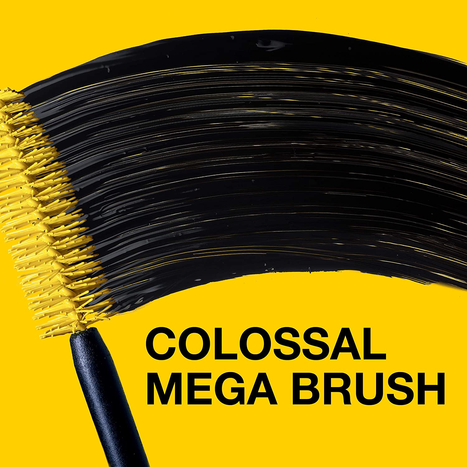 Maybelline Volum' Express The Colossal Washable Mascara, Volumizing, Glam Black : Beauty