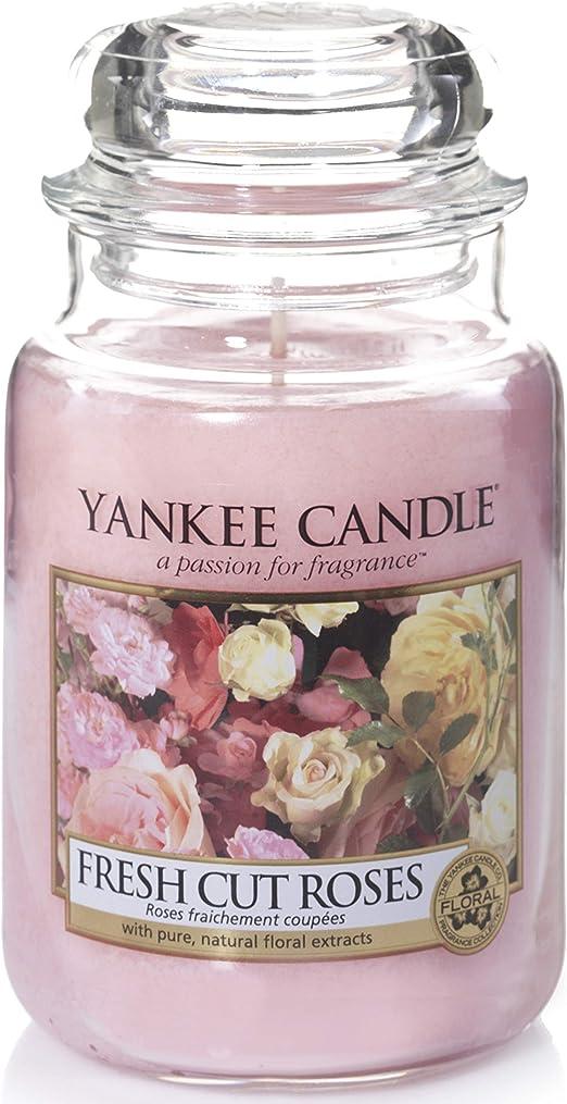 Yankee Candle Duftkerze Fresh Cut Roses