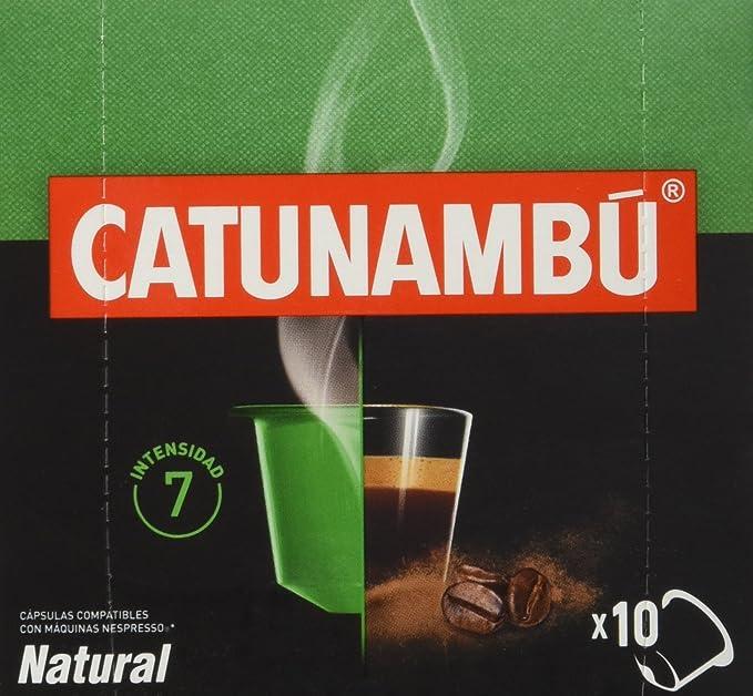 Catunambu Natural Intensidad 7 Café - 10 Cápsulas
