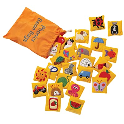 Educational Insights Phonics Beanbags, Learn Letter Sounds, Toddler Toys, Preschool Toys: Toys & Games