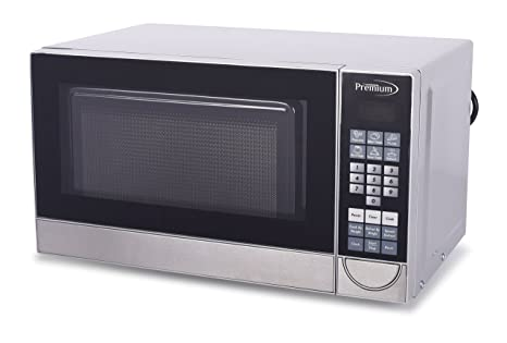 Premium PM70710 0.7 Cu. Ft. Counter Top Microwave Oven, Stainless Steel