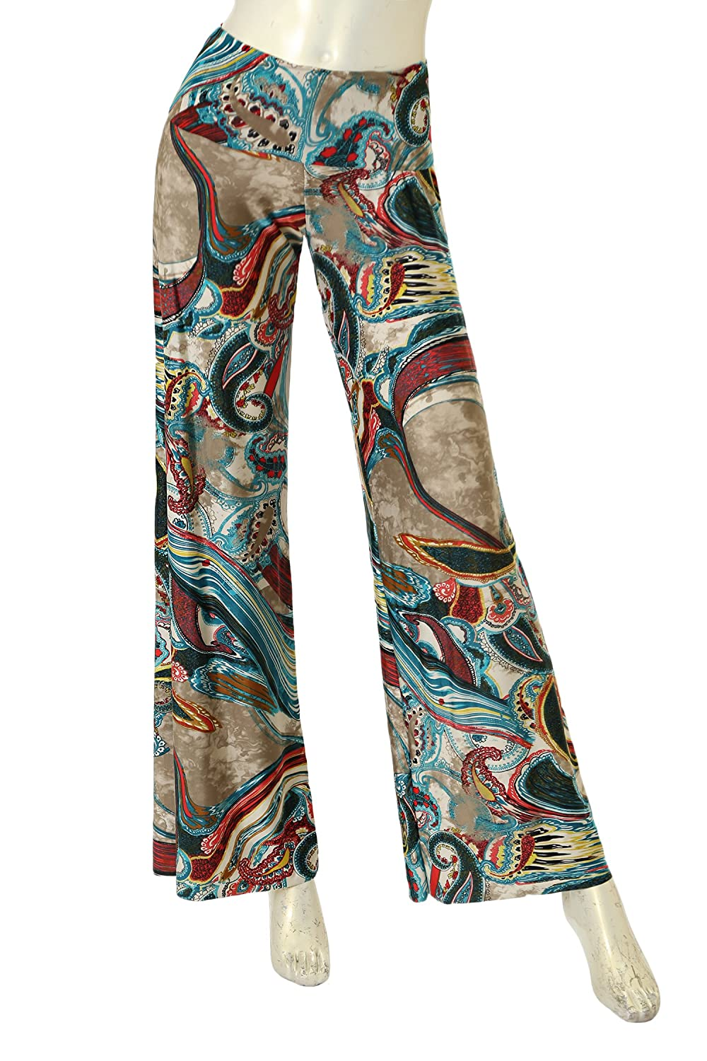 Women's Plus Palazzo Pants Whit Free Laundry Bags - Made in USA - 1
