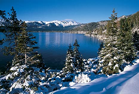 Christmas In Lake Tahoe.Goodall Christmas Cards Lake Tahoe And Incline Village Nevada 685
