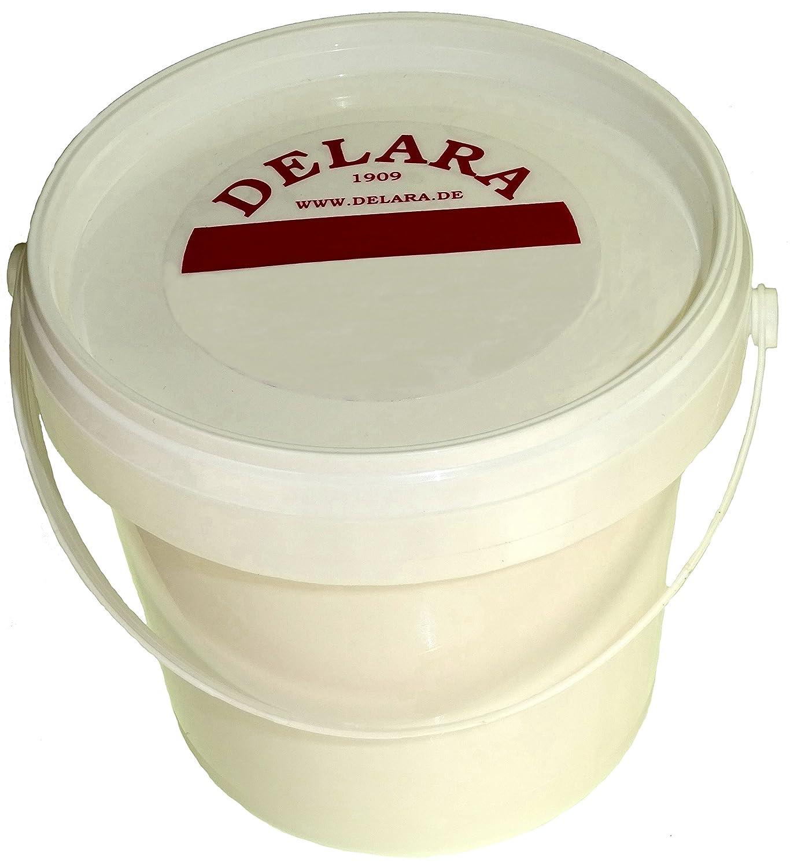 DELARA Bá lsamo para cuero con yoyoba y cera de abejas y fragracia a vainilla. En cubos de 500 ml, color: incoloro - Made in Germany 5447-01