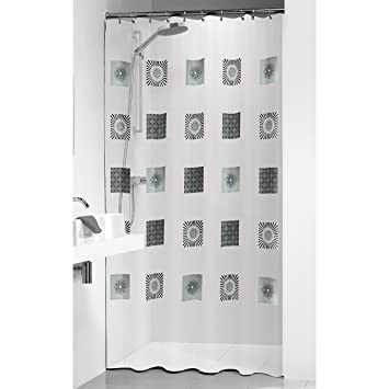 Sealskin Optics Shower Curtain 180 X 200 Cm Transparent