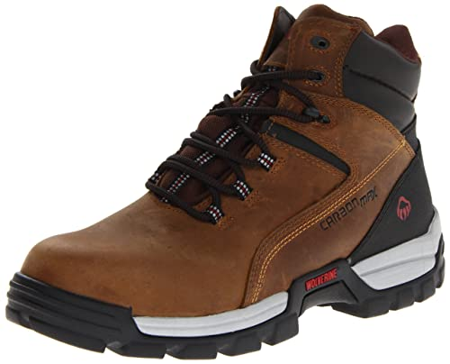 Lobezno Hombres de Asfalto Botas de Trabajo, Color marrón, Talla 46 EU M: Amazon.es: Zapatos y complementos